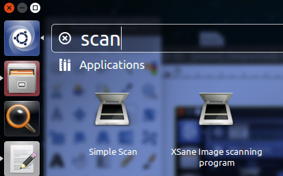 XSane image scanning program